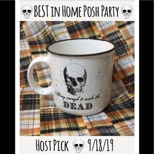"☠️HP!!☠️""Strong enough to wake the DEAD"" Mug"